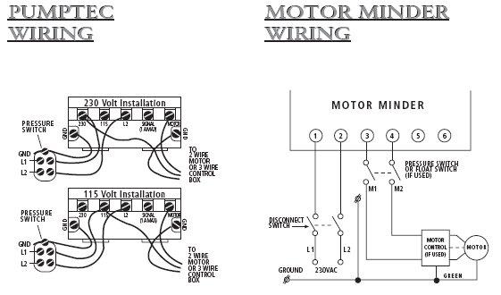 110 Volt Deep Well Pump Wiring Diagram Wiring Schematic Diagram
