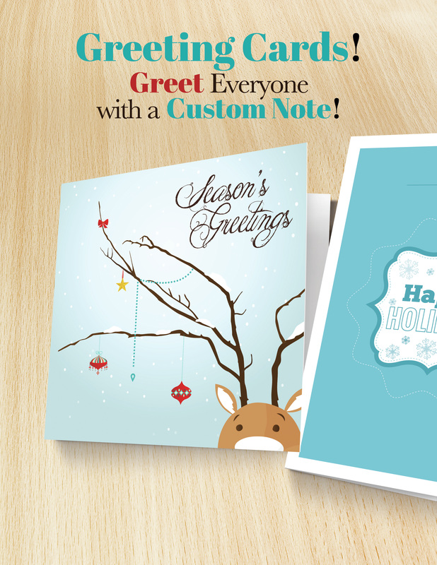 Holiday Cards, Greeting Cards Greenway Print Solutions - Printing