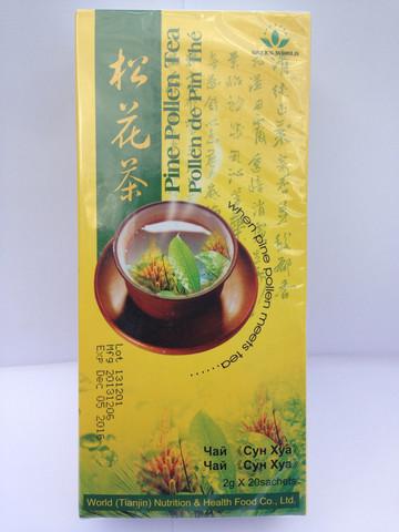 Green World Pine Pollen Tea Can Benefit Your Health