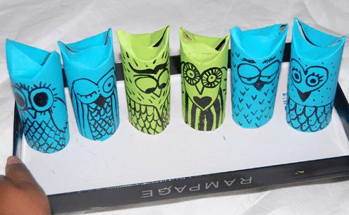 Toilet paper roll owls craftbnb