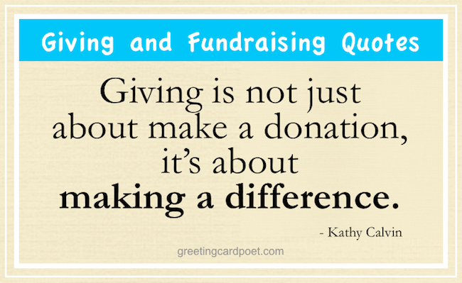 fundraising phrases