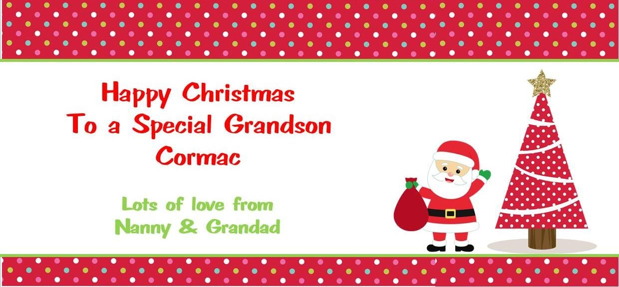 Personalised Christmas Gift Wallet for Money Vouchers Concert