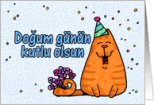 Happy Birthday In Turkish Language