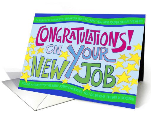 New Job Congratulations card (850574) - new job cards