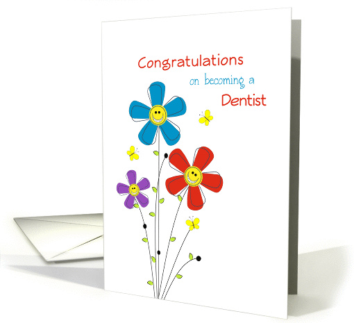 Congratulations On Your New Job Cards For Dentist from Greeting Card