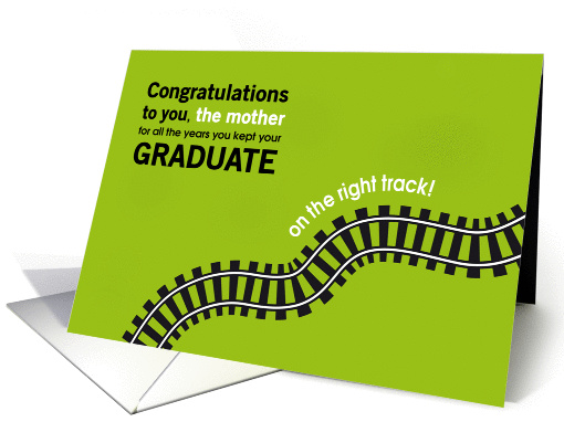 Congratulations on Graduation for Parents of Graduate Cards from