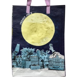 2016 Trader Joe's New Year Bag with Moon Front