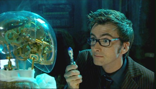 Clockwork Villain in Doctor Who's Episode, The Girl in the Fireplace - Descartes' Daughter and Doctor Who Clockwork Repair Droids