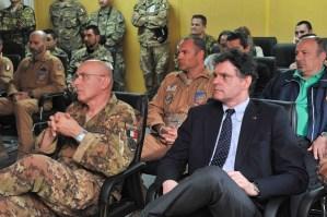 Herat (Afghanistan in visita al Contingente italiano in Afghanistan