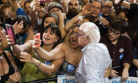 Bernie Moment