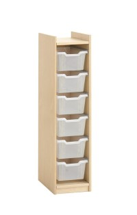 Storage Cabinet for 6 Plastic Boxes, by HABA, 840319