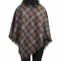 Outlander Ladies Tartan Shawl 100% Pure New Wool