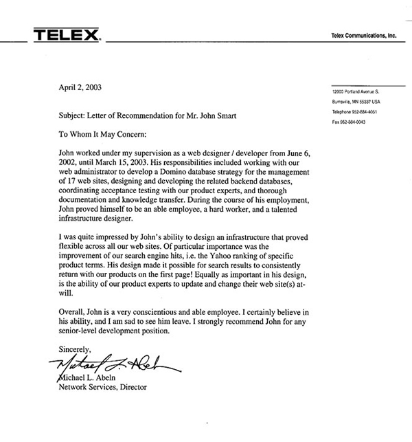 Reference Letter For Employee Leaving - reference letters for employment
