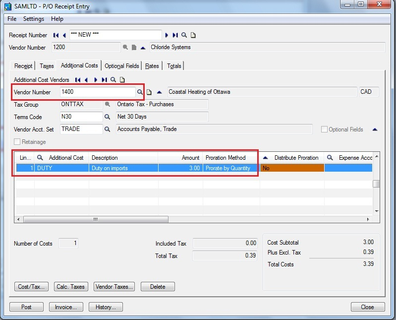 How to generate PO invoice from PO receipt \u2013 Sage 300 ERP \u2013 Tips
