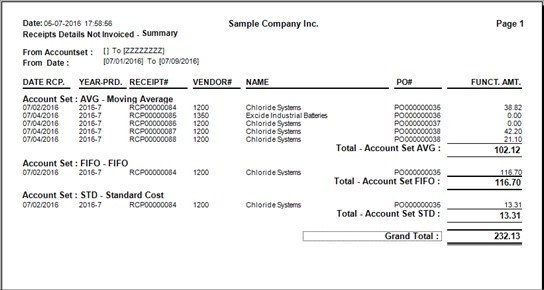 Non Invoice PO Receipt Report \u2013 Sage 300 ERP \u2013 Tips, Tricks and - what is invoice po number