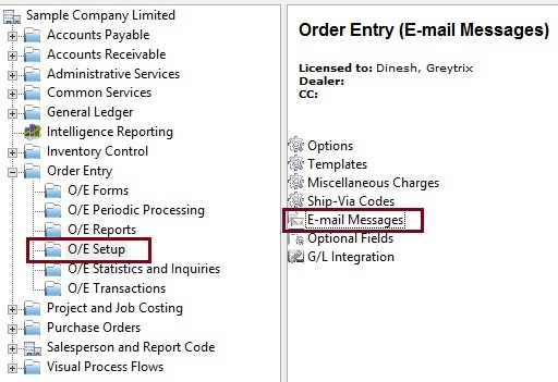 E-mail Messages sending with Custom Template on Order Confirmation