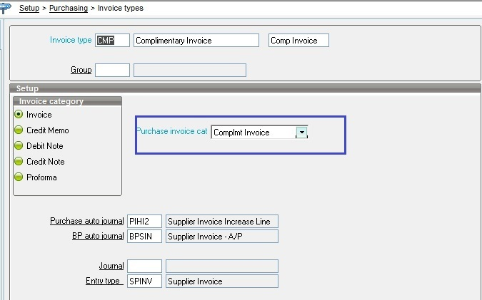 Use of Complimentary Invoice in Sage X3 - Sage X3 ERP \u2013 Tips, Tricks