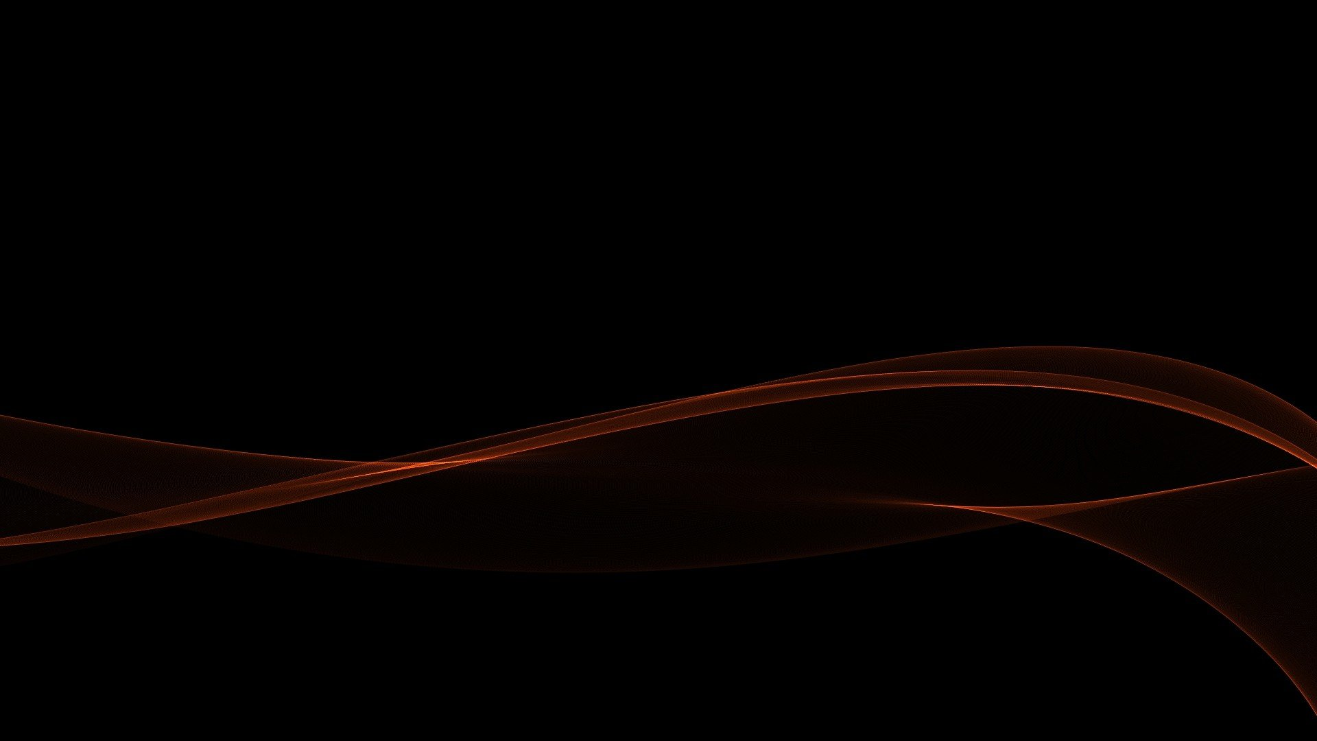 Black Home Wallpaper Red Gradient Minimalistic Waves Black Abstract Wallpaper