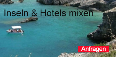 Inselhüpfen Ionische Inseln mixen