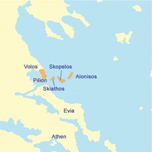Die Sporaden Inseln
