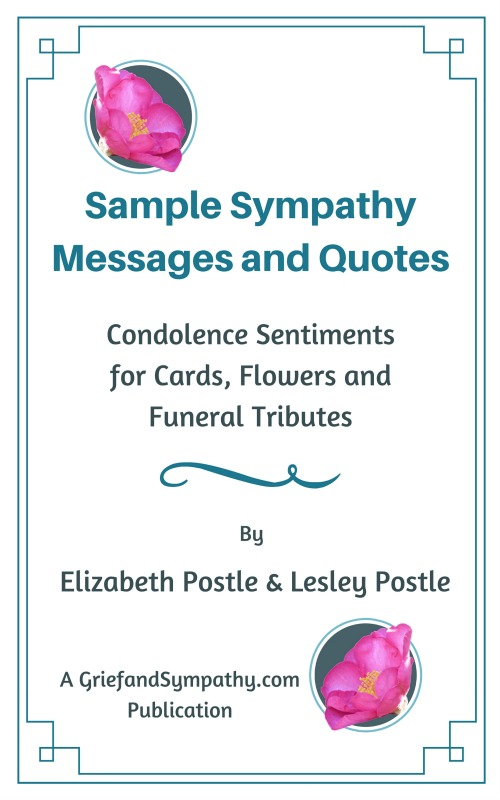 Words of Sympathy for All Types of Loss Messages, Letters, Quotes