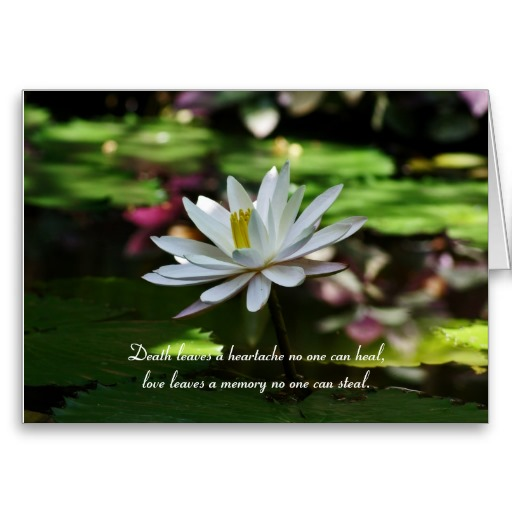 Funeral Condolences and Messages - sympathy message