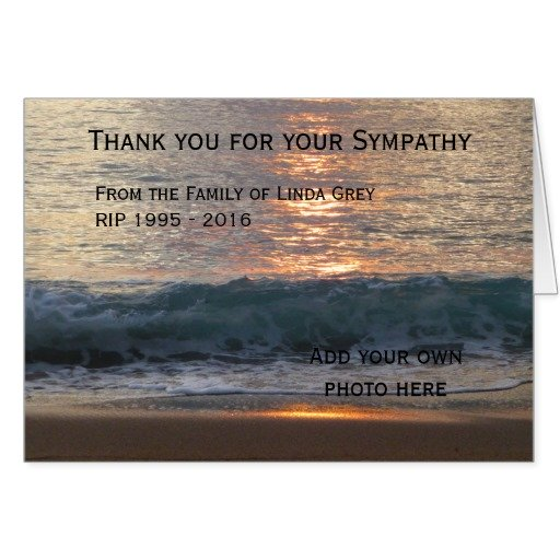 Easy Funeral Thank You Notes - Written from the Heart