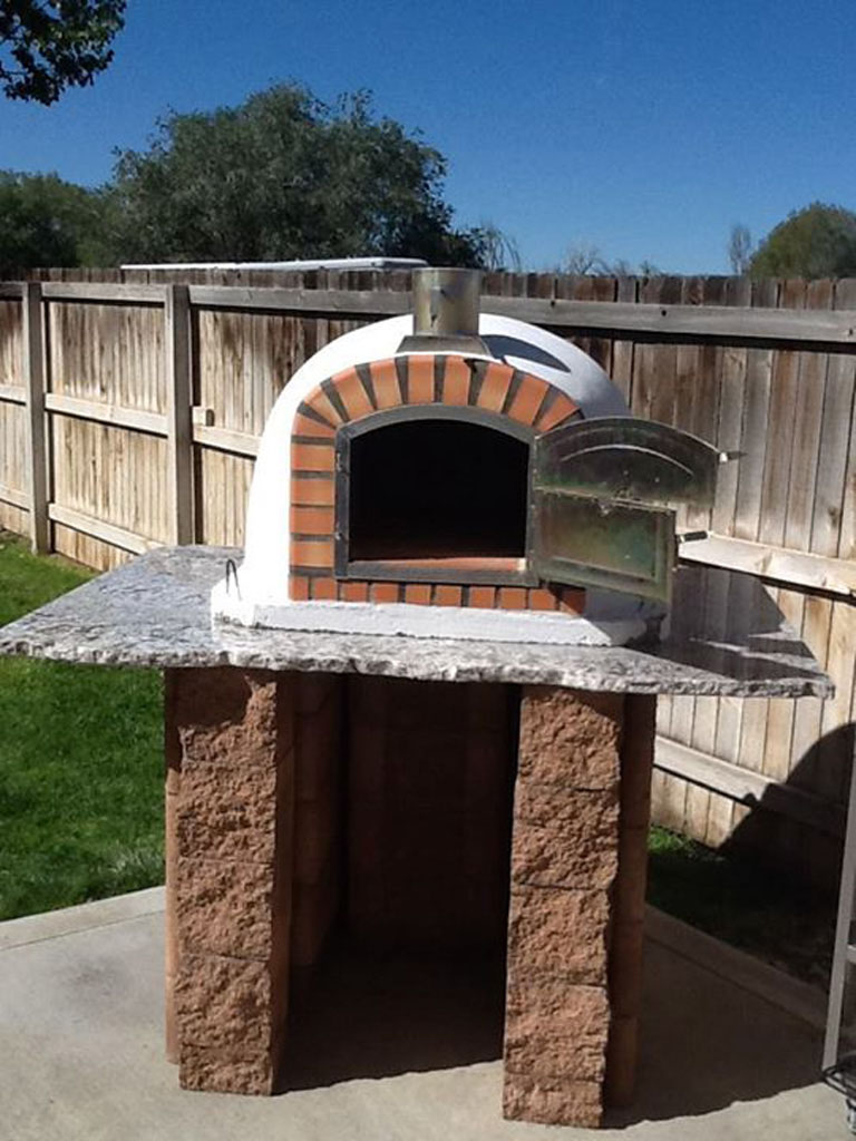 outdoor pizza oven hunter springs landscaping artisans