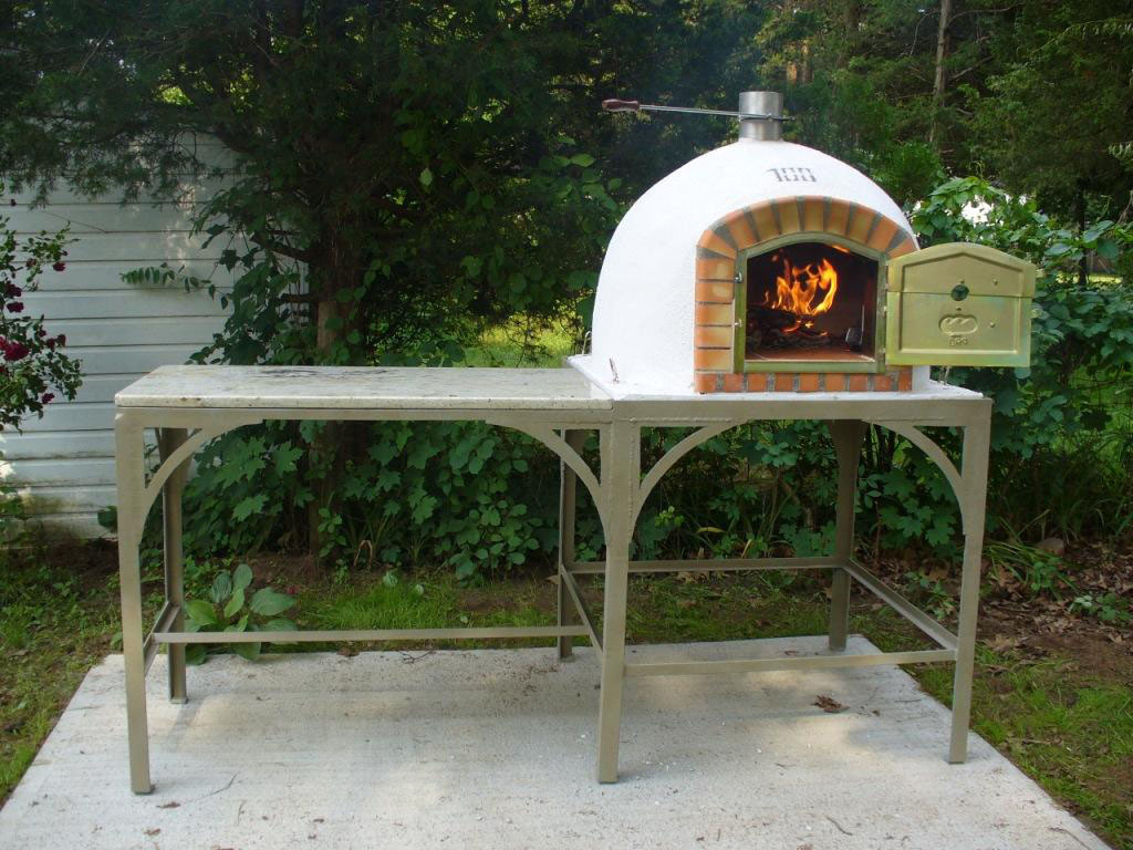 outdoor pizza oven hunter springs landscaping artisans