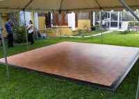 Staging | Dance Floor Rentals | Outdoor Flooring | Grimes
