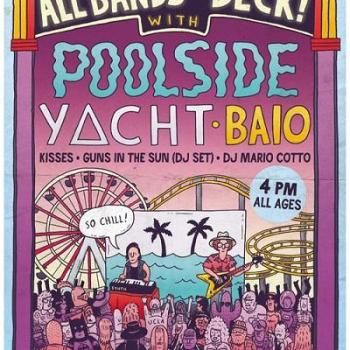 Win Tickets to Poolside & Yacht at Santa Monica Pier – March 30, 2013