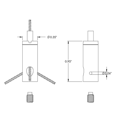 12Z-M4-Q16 Cable Suspension Systems Griplock Systems, LLC