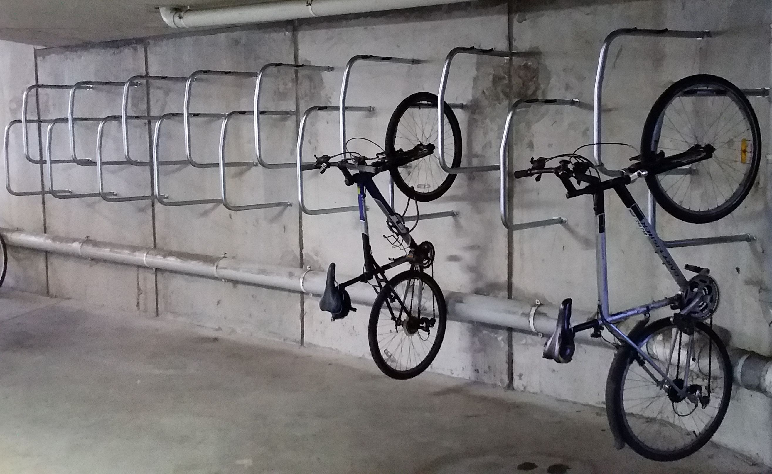 Vertical Bike Rack Gripsport