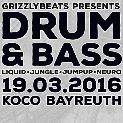 Drum & Bass Party am 19.03.2016!