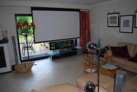 trockenbau ideen wohnzimmer. wohnzimmer tv wand excellent full ... - Wohnzimmer Ideen Beamer