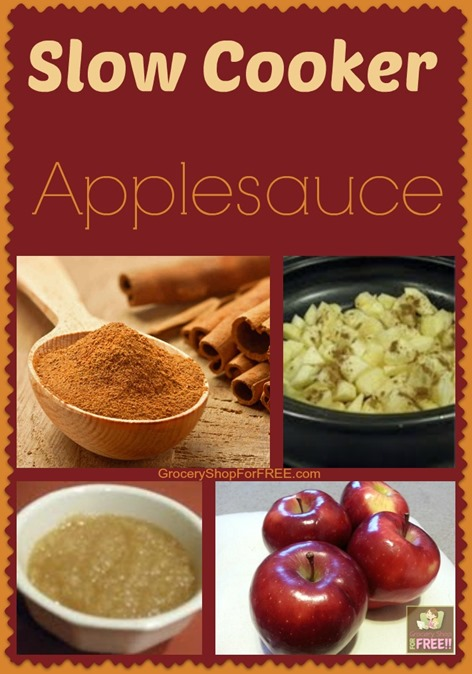 Slow Cooker Applesauce!