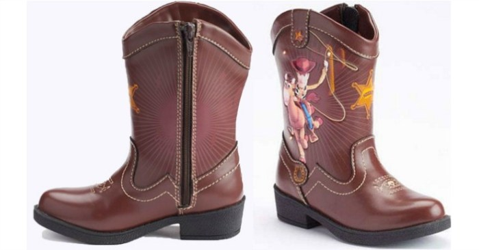 Toy Story Boots For Boys : Toy story toddler boys cowboy boots only shipped