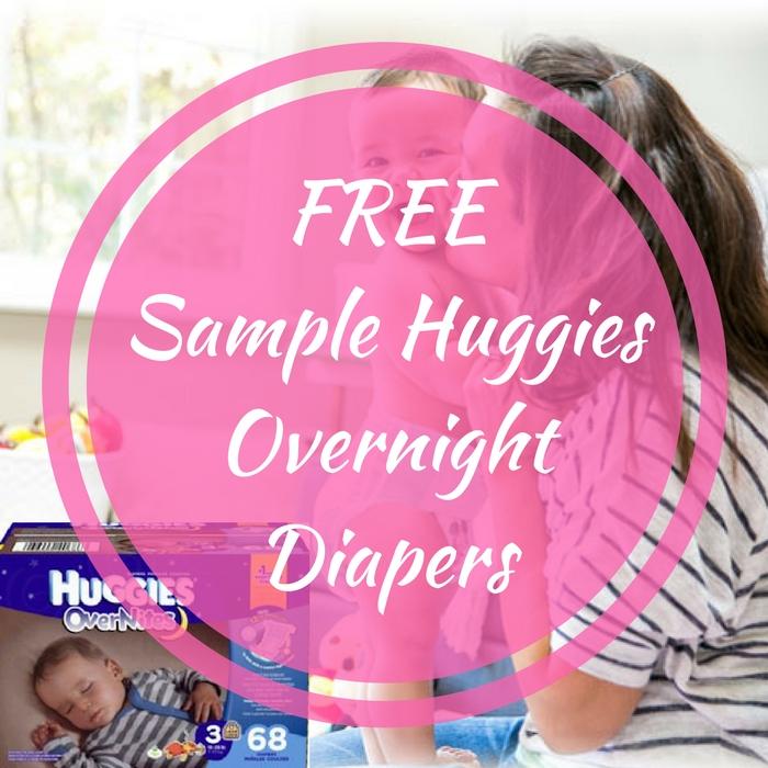 FREE Sample Huggies Overnight Diapers!