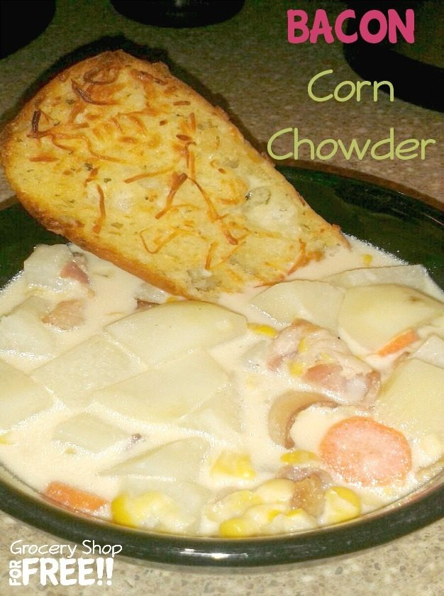 Bacon Corn Chowder Recipe!