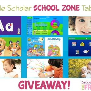 Little Scholar School Zone Android Tablet Giveaway!