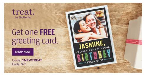 FREE Customized Greeting Card!