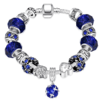 50 Shades of Aqua Blue Designer Inspired Bracelet Just $10.99! Down From $199.99! Ships FREE!