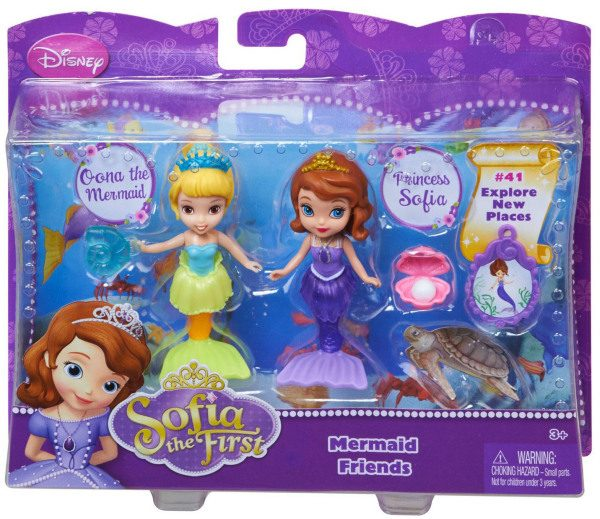 Sofia The First And Oona The Mermaid Dolls Only 8 39
