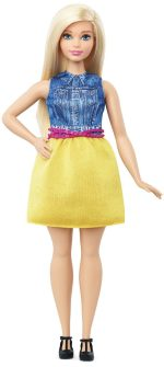 Barbie Fashionistas Doll 22 Chambray Chic – Curvy Only $7.94! (Reg. $12)