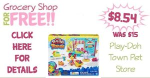 Play-Doh Town Pet Store Just $8.54 (Was $15)!