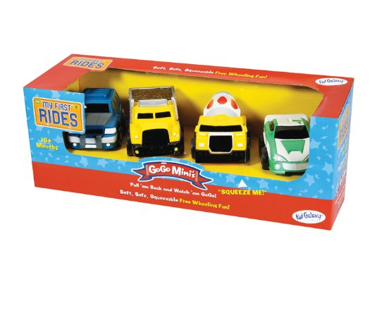 Kid Galaxy My 1st Rides Mini Go Go 4-Pack Construction Trucks $7.03 + FREE Prime Shipping (Reg. $15)!