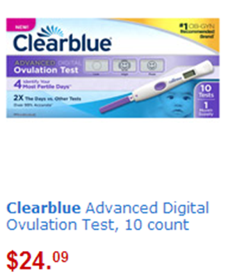 Clear blue ovulation kit coupon