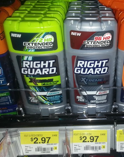 Right Guard Xtreme Deodorant