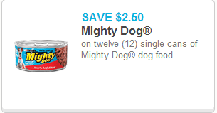 Printable Coupons For Mighty Dog Food