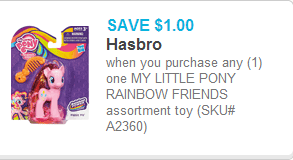 My Little Pony Coupon